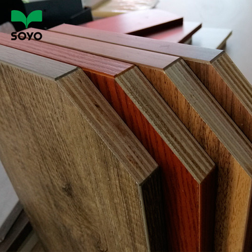 hot sell high quality 18mm Mix Core Warm White Laminated Melamine Plywood for kitchen