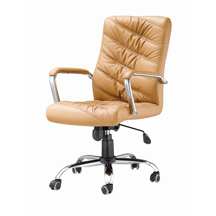 China Bazhou wholesale black pu leather swivel lift office chair