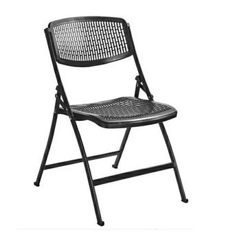 2018 popular high back portable plastic folding chair