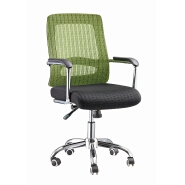 HS-209 Mid back task chair , Net back office chair for staff , Swivel chair