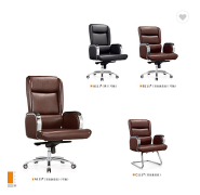 high end office genuine leather dining chair factory sell directly SY17