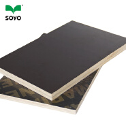 one time hot press brown film faced plywood used poplar core