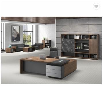 Modern office executive ceo desk l shaped office desk
