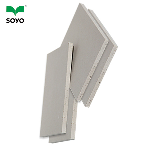 High strength widely used gypsum board with good sound insulation effect