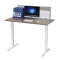 Sit to stand height adjustable desk with electric system for study, dinning, music equipment