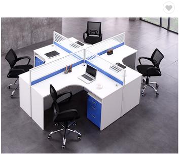 2019 new computer desk modular workstations office furniture set
