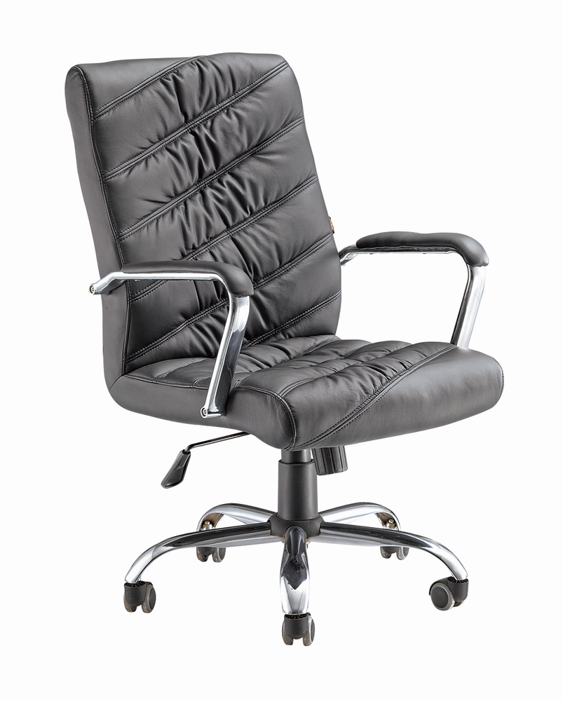 China Bazhou wholesale black pu leather swivel lift chair with armrest