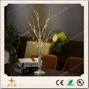 Wholesale Factory Price 60cm24led Silver Birch Tree Light for Outdoor/Indoor Decoration