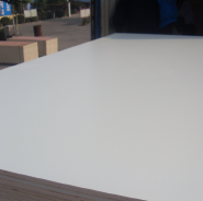 17mm white HPL plywood,HPL/formica laminated board