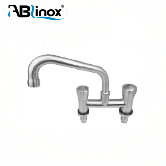 Water-saving design Lead-free Stainless Steel kitchen water sink faucet