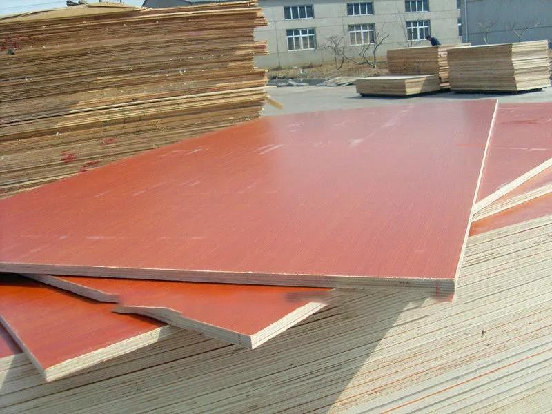 1220*2440*12/15/18mm melamine coated plywood