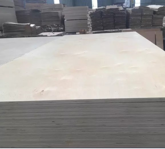 C/D grade Birch veneer plywood  used for making furniture