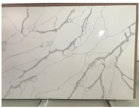 Bathroom Vanity Polished 3200*1600 Calacutta /Calacatta White/Black/Grey Marble Quartz Stone