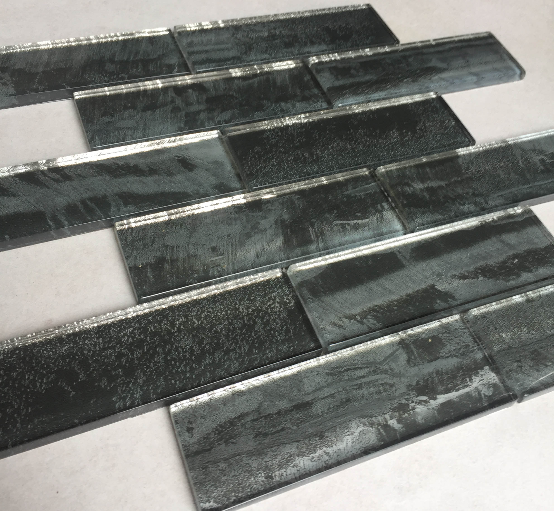 Foshan Crystal glass tile flooring swimming pool mosaic tiles