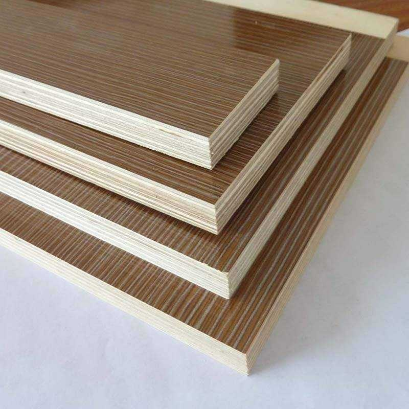 waterproof plywood melamine veneer faced for sale construction