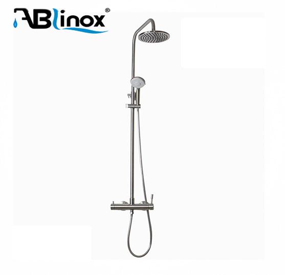 Apron Front Mechanical Polishing portable rain shower
