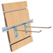 cheap mdf slotted wall board for supermarket