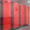 Custom red composite board pvc for toilet partition system