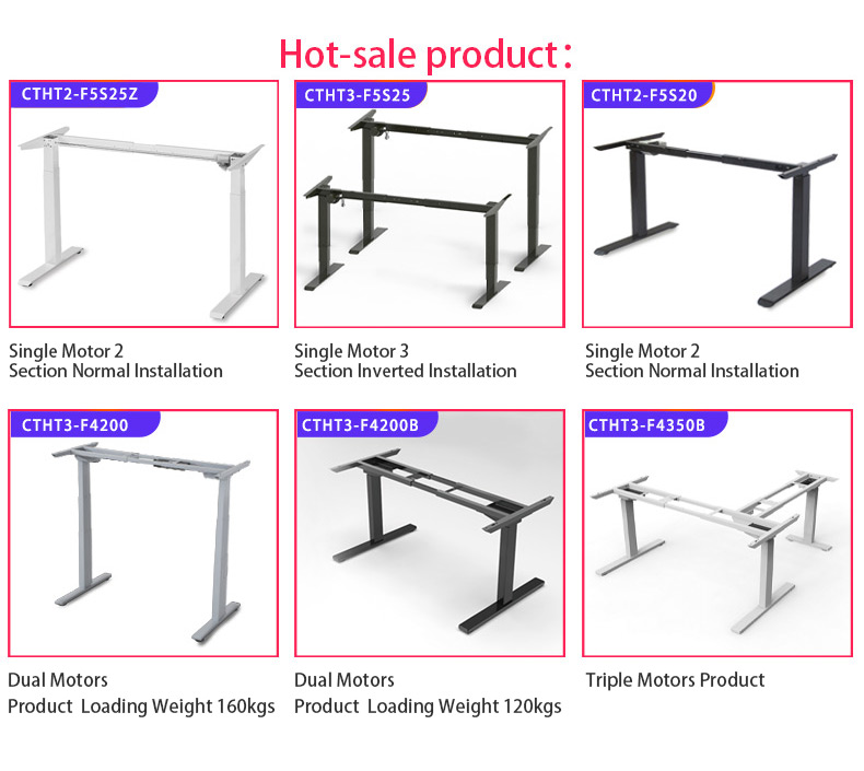 2019 Modern Electric Height Table Adjustable Standing Table