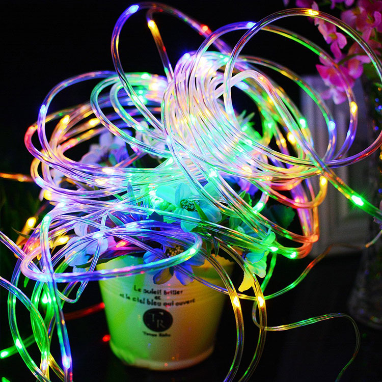 Color Changing Led Ultra-Thin Flexible Neon Flex Rope Light Flat 4-Wire
