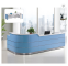 Clinic Hospital Reception Desk with Modern Design