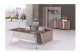 China OEM wood furniture office desk with side drawer