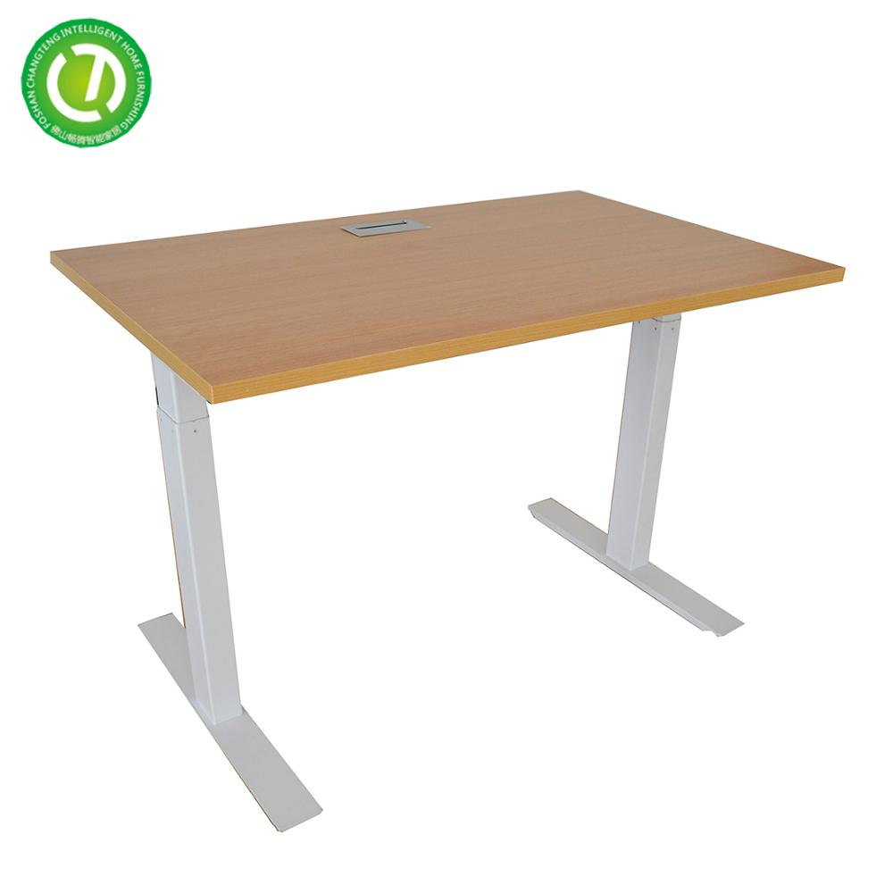 electric height adjustable desk india single motor sit standing table from foshan china manufacture