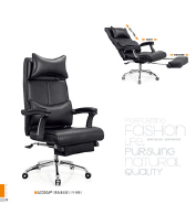 headrest bed chair dining chair leather factory sell directly SY20
