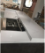 New Polished Calacatta White 3200*1600 White/Black/Grey Quartz Stone Slabs