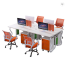 2019 colorful office furniture office workstation desk for 2 4 6 person