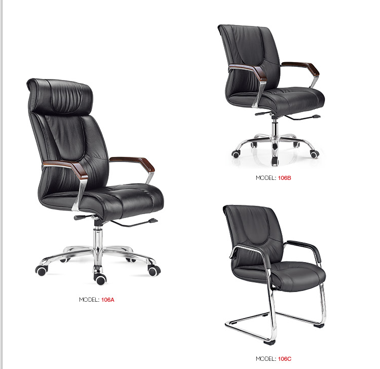 Conference office leather chair