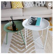 2018 Modern design coffee table set metal coffee table