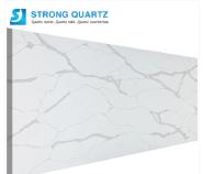 Foshan Wholesale Polished 3200*1600 Calacutta /Calacatta White/Black/Grey Quartz Stone for Bench Top