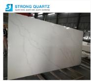 New Polished Calacatta White 3200*1600 White/Black/Grey Quartz Stone Slabs