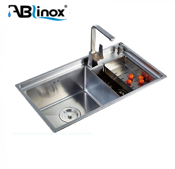 Guangzhou Certificate NSF SUS stainless steel basin bathroom sink School canteen equipment