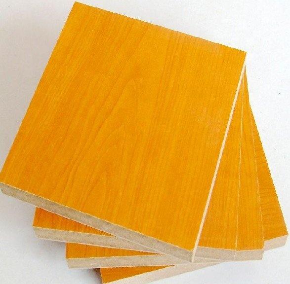 supply 18mm furniture grade melamine mdf board