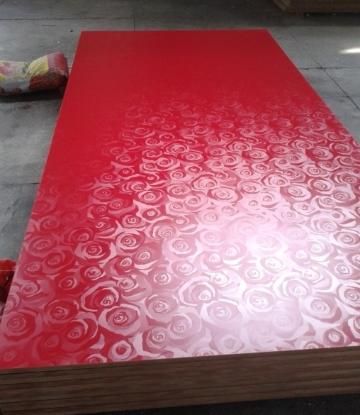 2019 new design slotted mdf