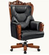 High Back Luxury Modern Ergonomic Leather Office Chair