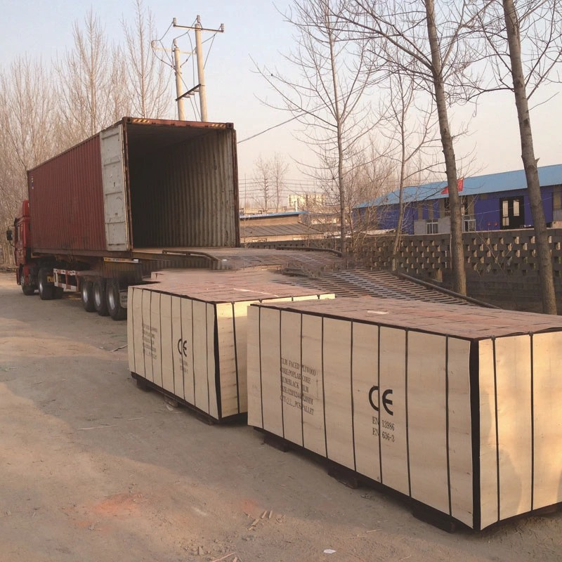 Hot Sale 9mm Poplar Film Faced Plywood for Construction
