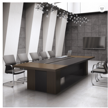 Latest design melamine conference table for 10 person 22CKD022
