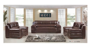 high end office leather antique sofa set factory sell directly SJ15