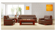 modern style office sofa couch mdf wood factory sell directly HY124