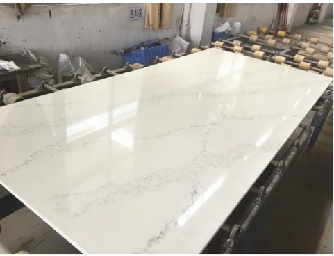 Foshan Manufacturer Wholesale Polished 3200*1600 Calacutta /Calacatta White/Black/Grey Artificial Qu