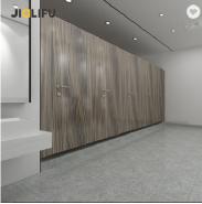 European waterproof phenolic resin wood toilet partition door