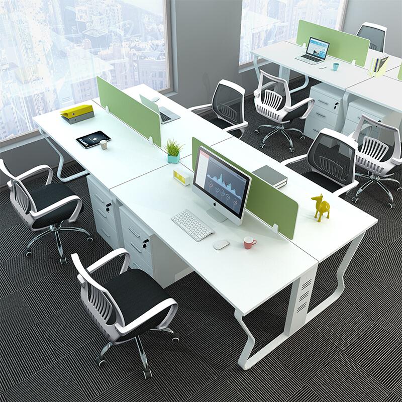 Modular desk and workstations office furniture desks