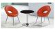 2015 tempered glass coffee table round