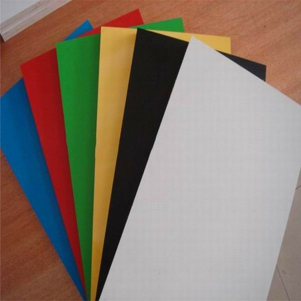 Supply 18mm solid color melamine MDF board