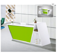 China Manufacturer Green Office Reception Desk Counter