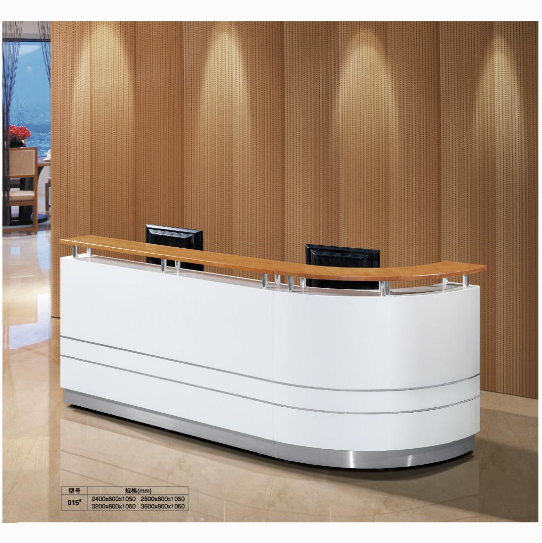 Best price modern front desk reception desk beauty salon