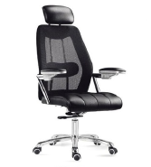 2017 Swivel Ergonomic Executive Mesh Office Chair With Adjustable arm